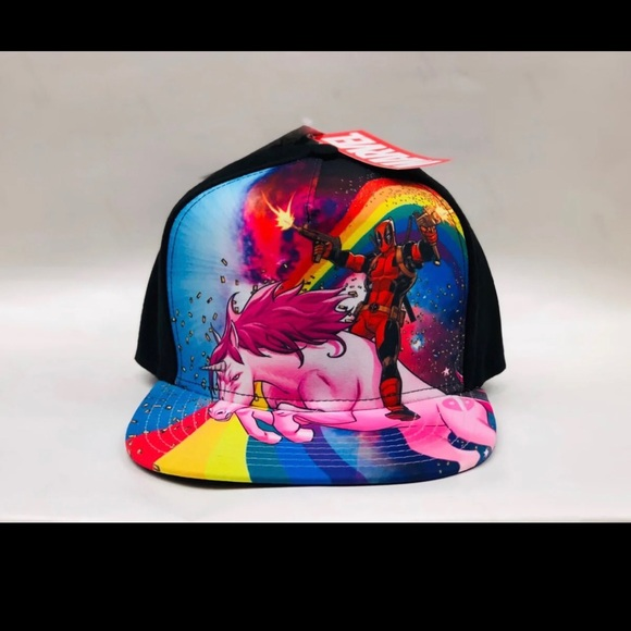 493ec78c 2019 Deadpool Unicorn SnapBack Hat Brand new with tags one